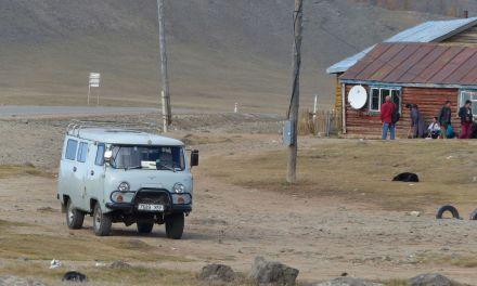Video aus der zentralen Mongolei