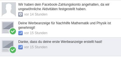 facebook Blockierungx