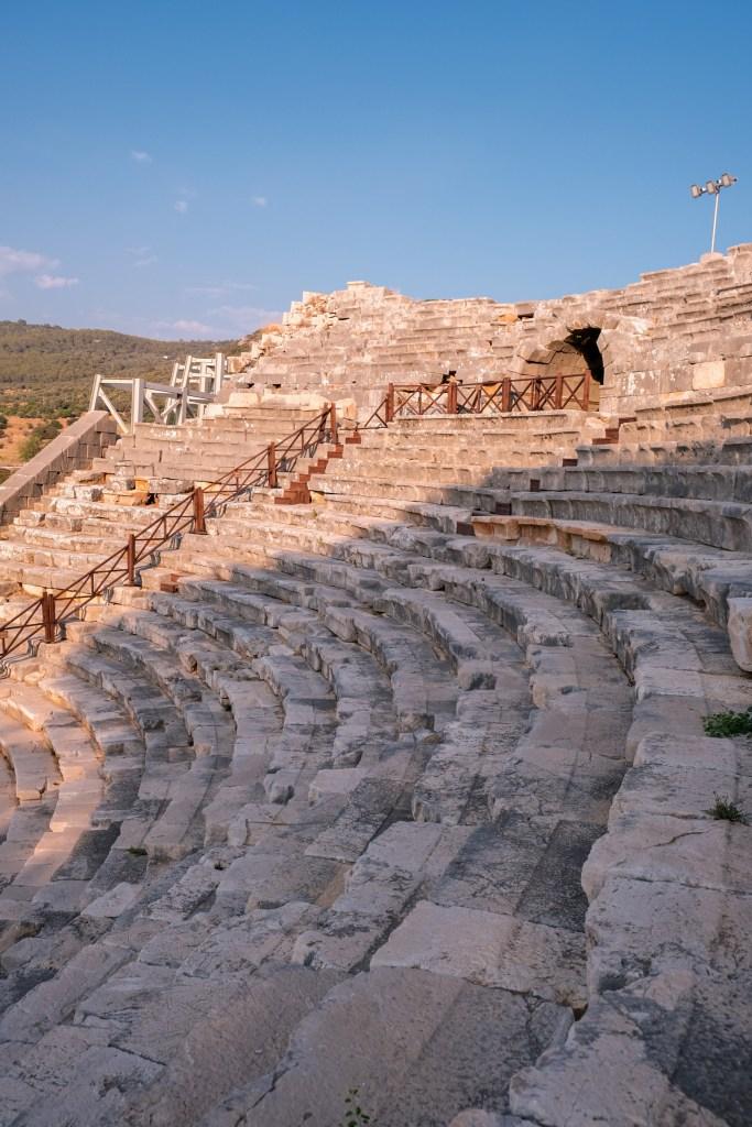 Theater vom Antiken Patara