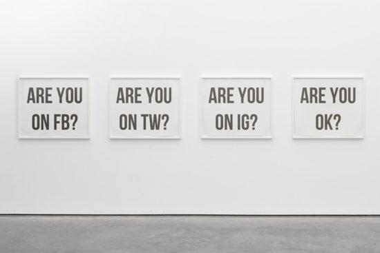 'Are you ok?' Ignacio Kise. Printed art. 2016