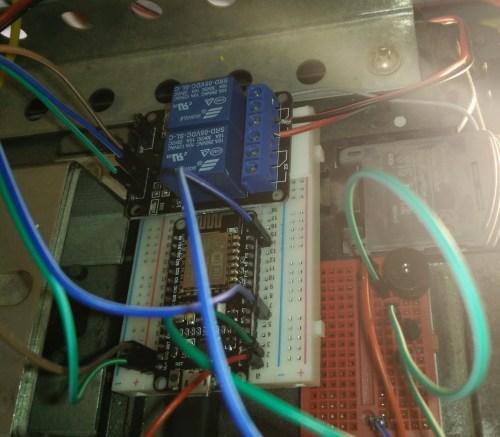 small resolution of picture of esp8266 nodemcu relay wifi garage door opener