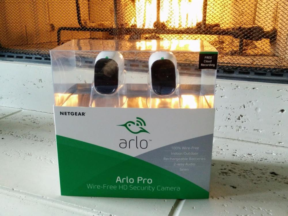 medium resolution of netgear arlo pro review boxed home security surveillance camera