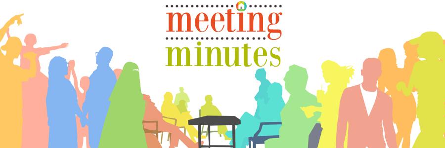 May 12th meeting minutes