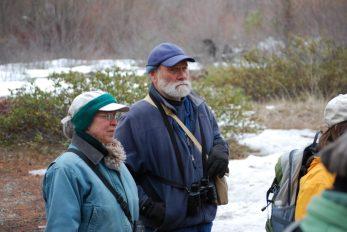 CDLT volunteer site stewards, Kim Lohse and Phil Archibald, guided us through the riparian habitat along the Entitat River.