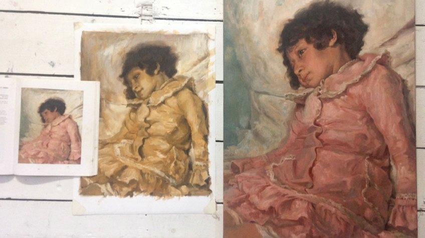 Meesterkopie Ilia Repin
