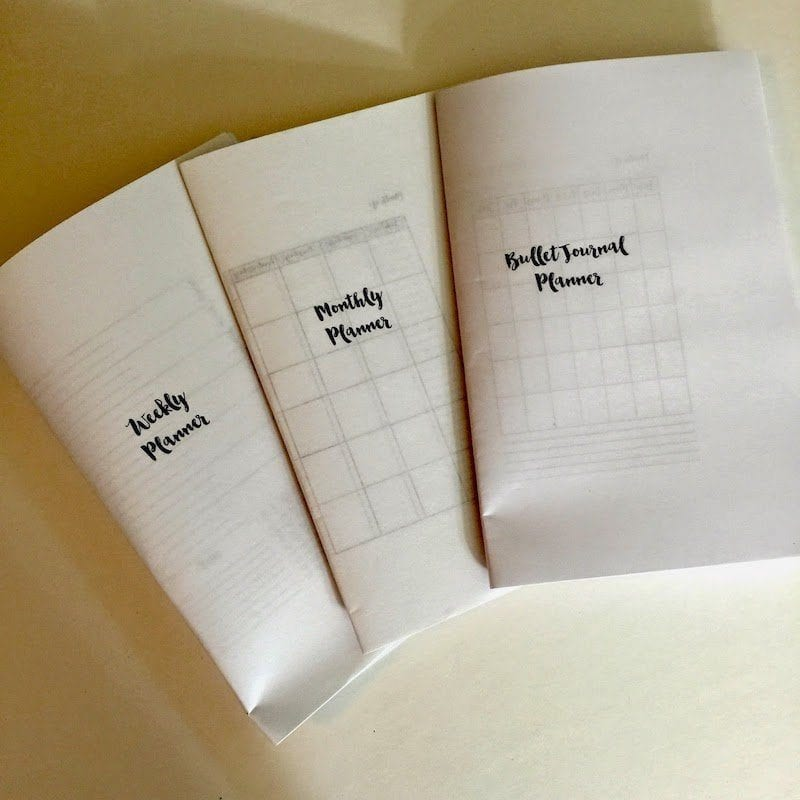 Free Traveler's Notebook Inserts Printables (Monthly ...