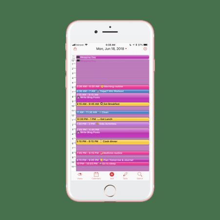 SAHM/Blogger Schedule