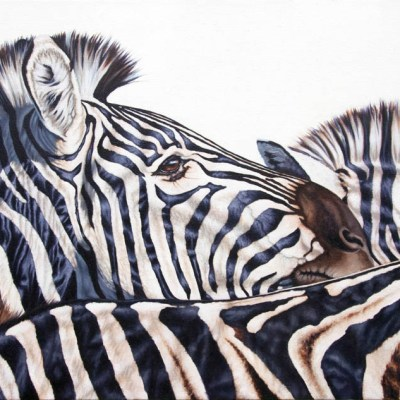 THE HERD    Oil on Canvas, 1520mm x 760mm  more info