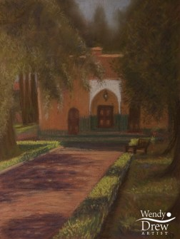 Garden walk, La Mamounia, Marakesh