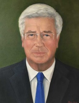 Sir Michael Fallon KCB MP PC, Secretary of State for Defence.