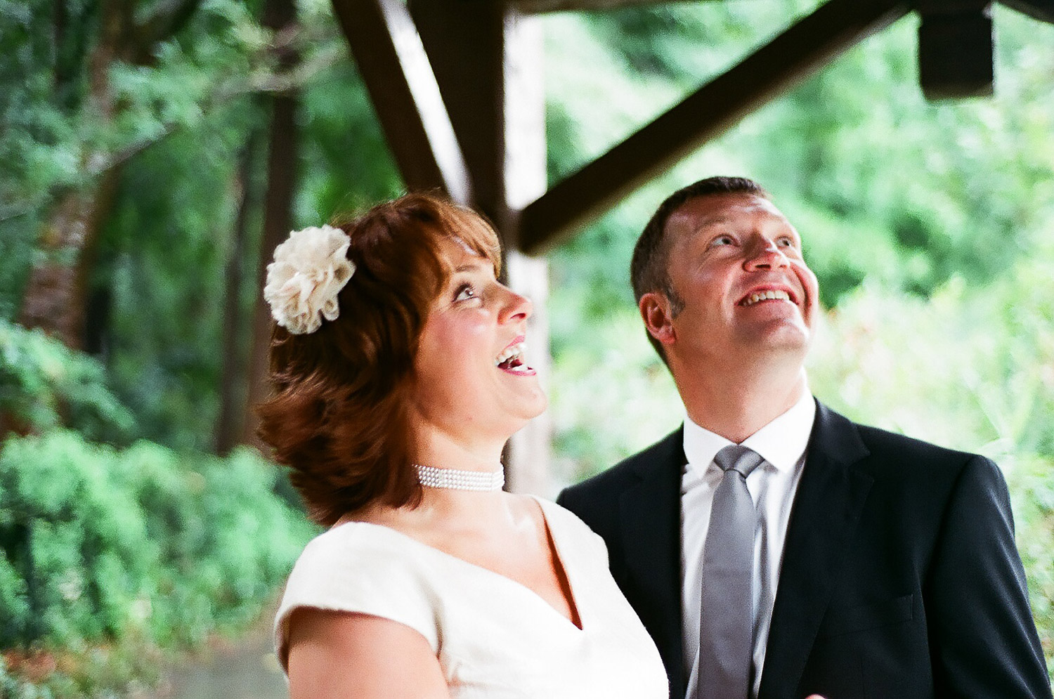 quirky elopement wedding day photo by wendy g photography