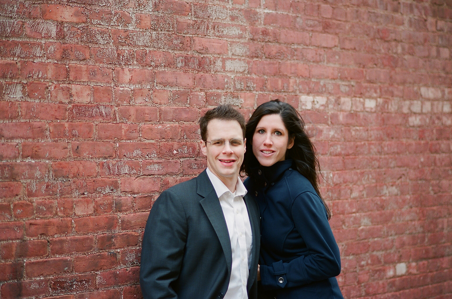 hoboken engagement couple by wendy g photography