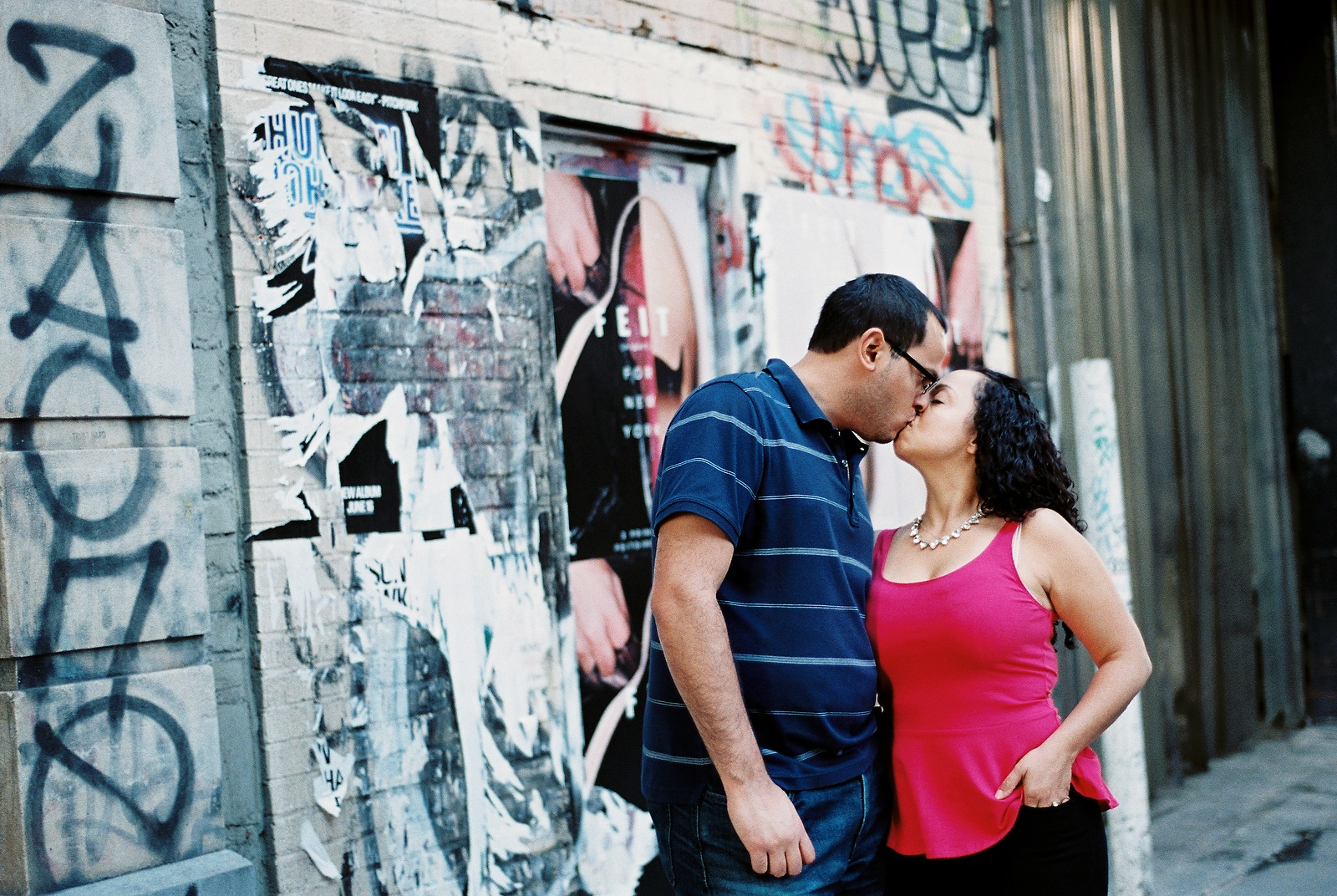 nyc noho engagement session by wendy g photography