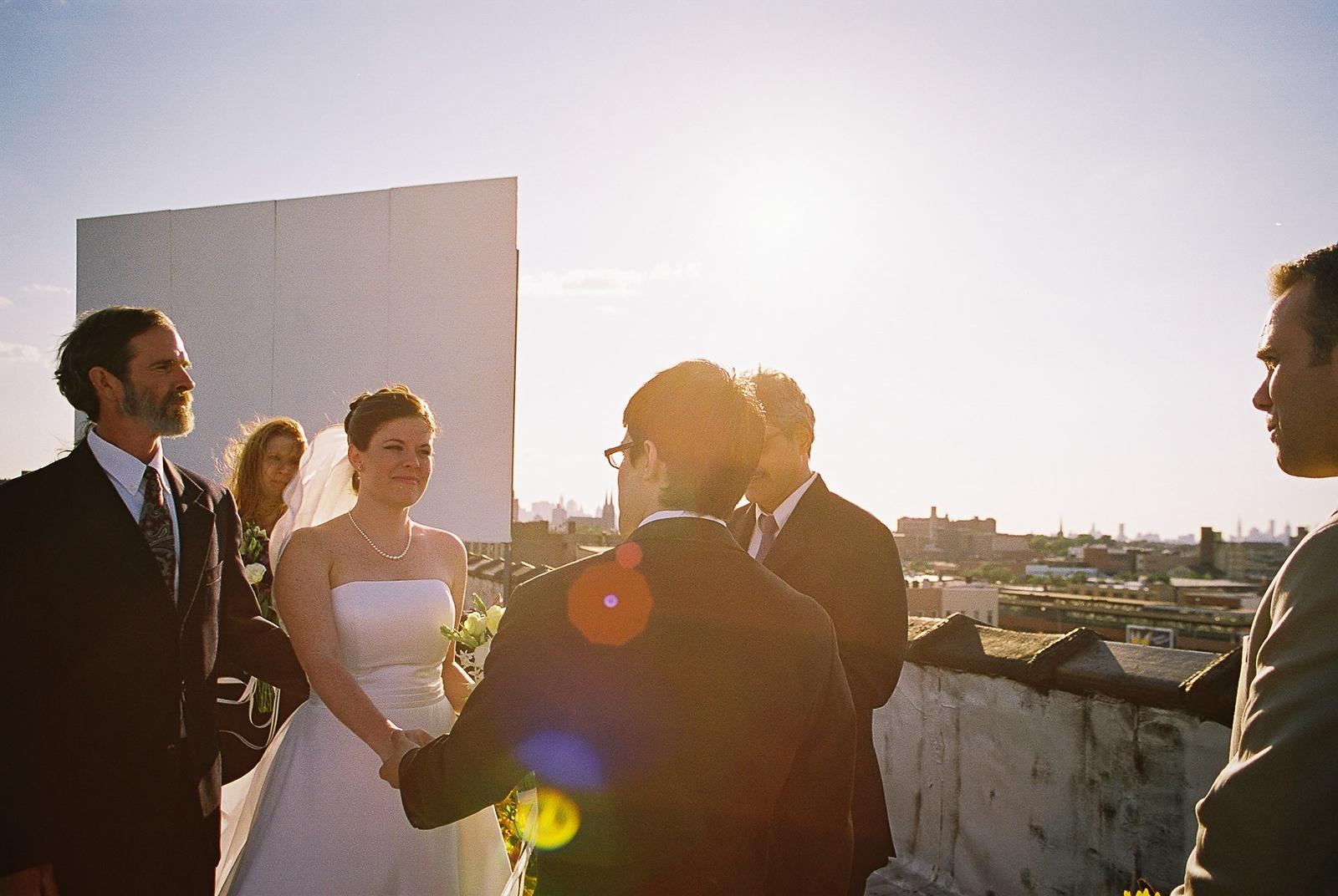 office ops brooklyn wedding ceremony