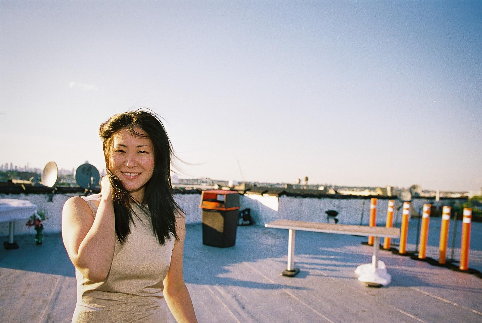 rooftop wedding office ops