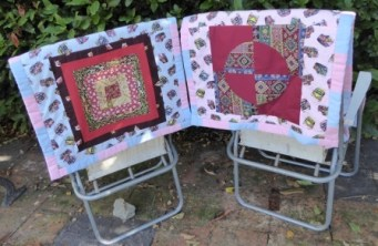 Patchwork Chair Covers Back