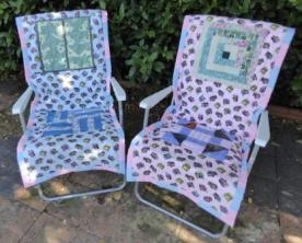 Patchwork Chair Covers Front