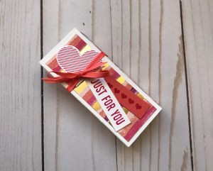Stampin' Up!, Wendy Makes, Hershey's Chocolate Nuggets, Valentine's Day