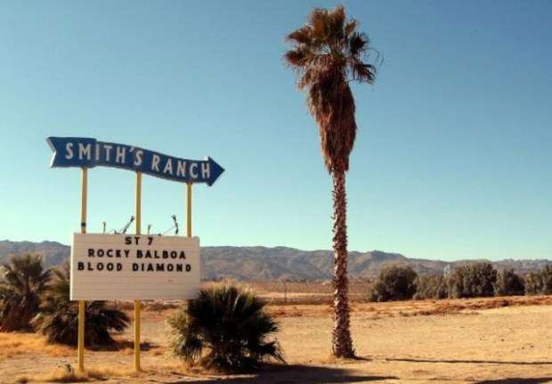 Smith's Ranche Drive-In, Twentynine Palms, CA.