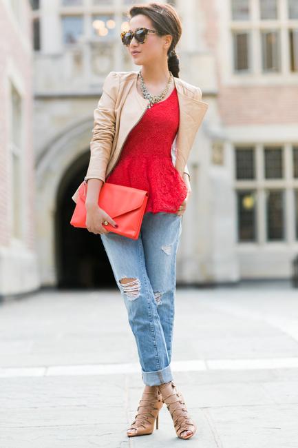 Weekend Wear lace peplum-1