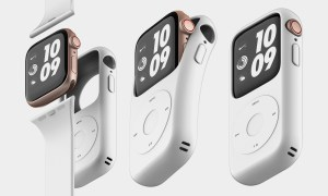 This case turns your Apple watch into an iPod