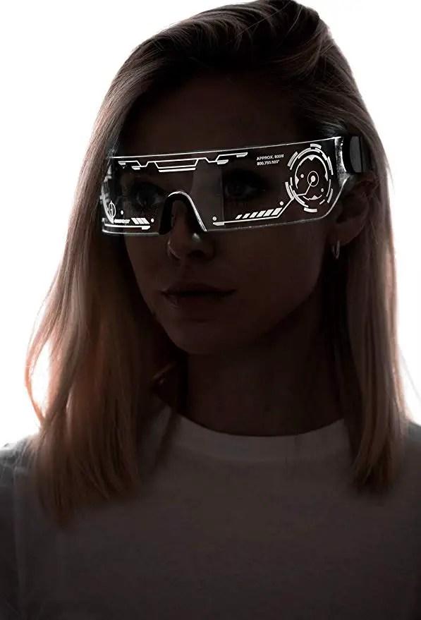 Futuristic Sci-FI glasses & goggles