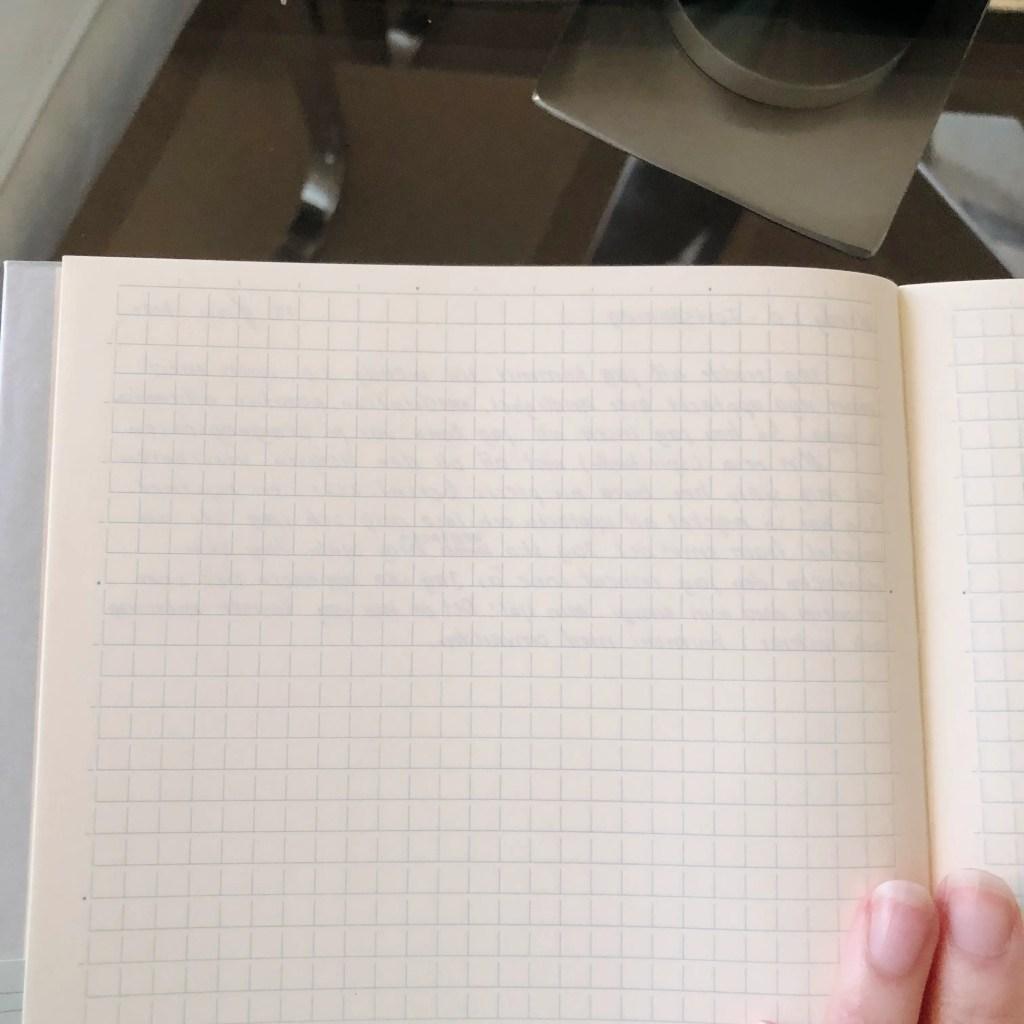 Midori MD grid notebook in A5