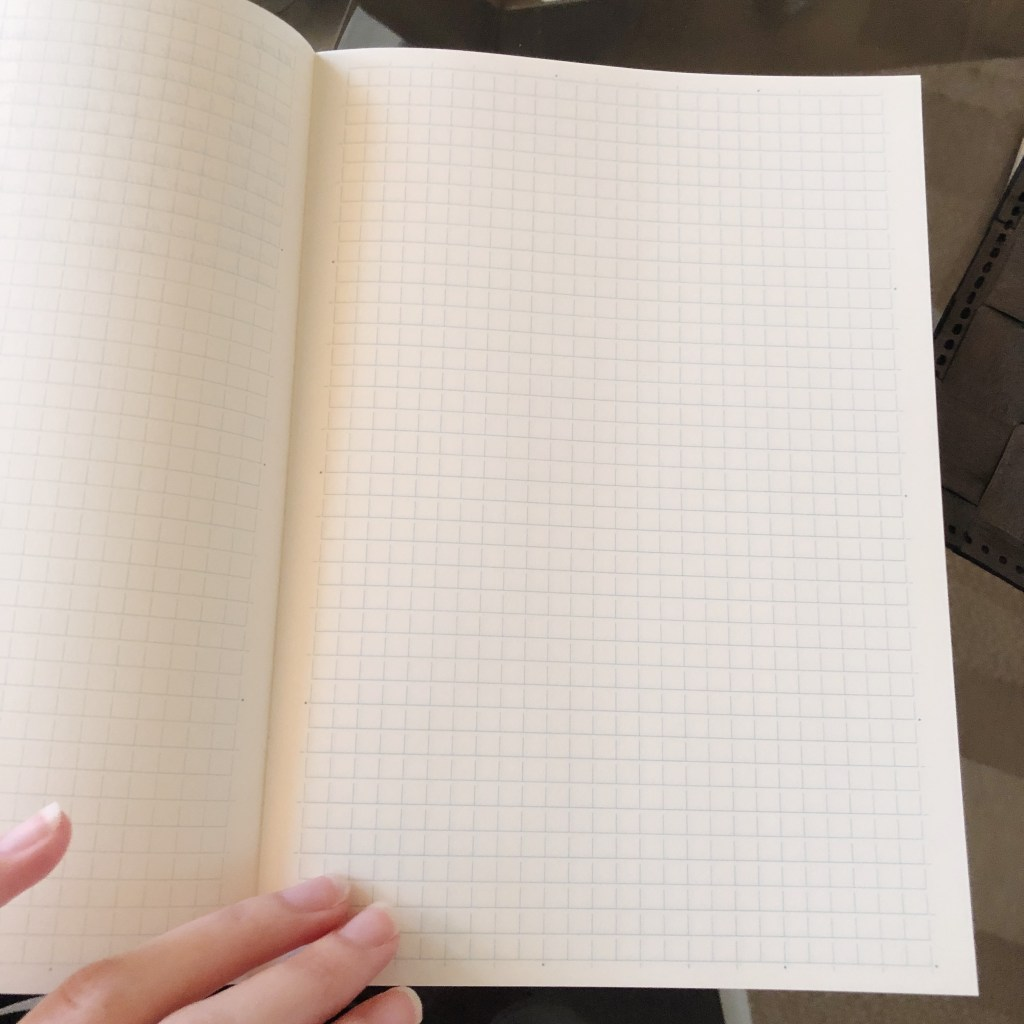 Picture of Midori notebook grid