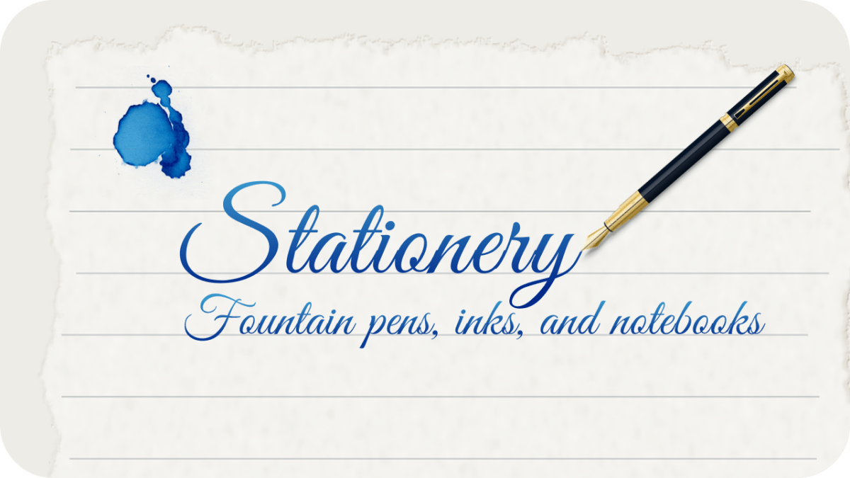 stationery and fountain pen blog