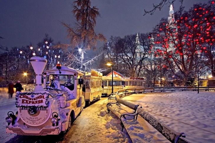Kerstmarkten in Wenen in 2019