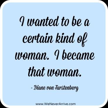 Diane von Fustenberg Become woman