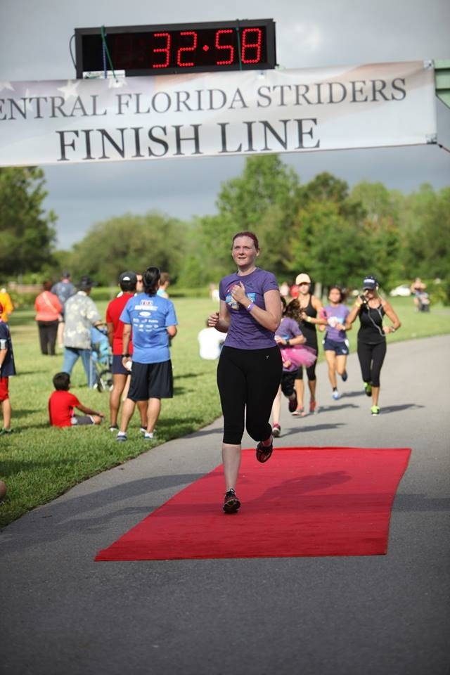 Finish Line Pig Run