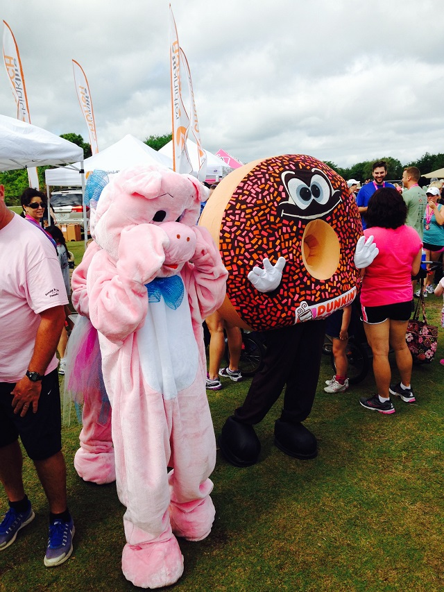 Pig Run of Lake Nona Mascots