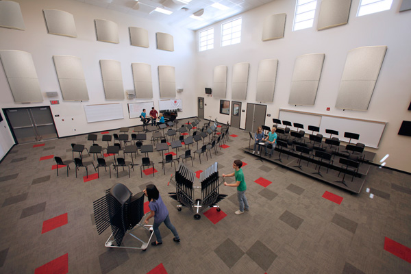 Tunable Acoustical Panels  Wenger Corporation