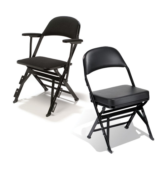 high folding chair slide under tray table density portable audience chairs by clarin wenger corporation sup