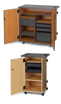Mobile Media Storage Cabinets - Wenger Corporation