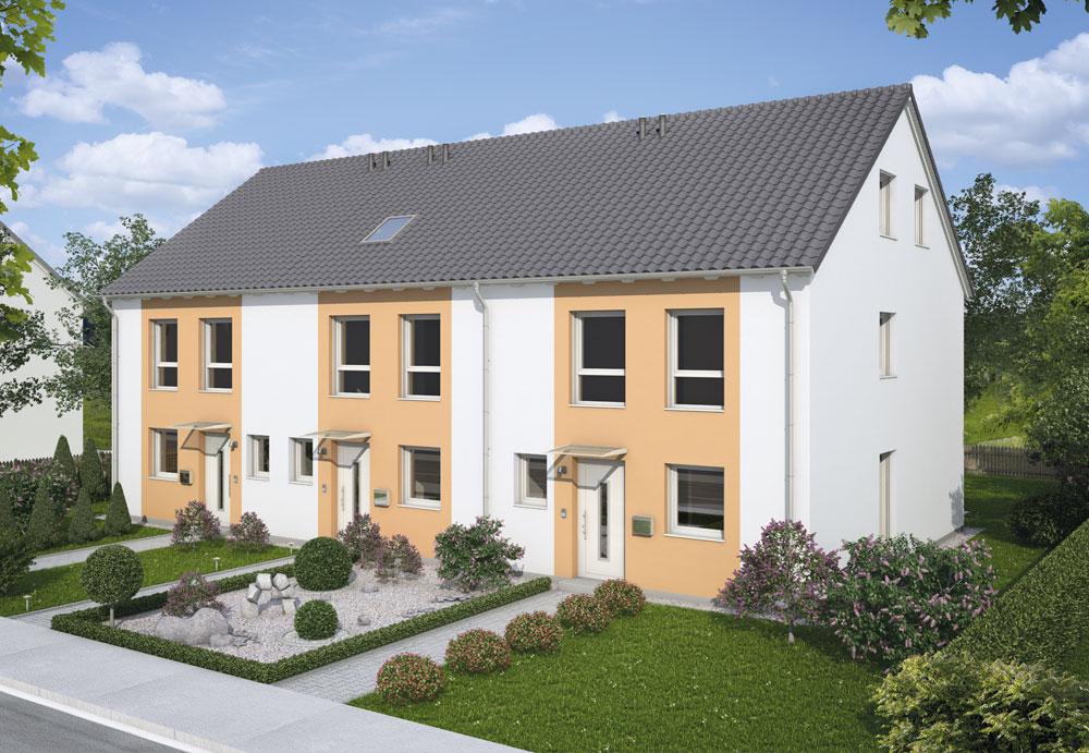Reihenhaus Classic 142  Wengerter Massivhaus