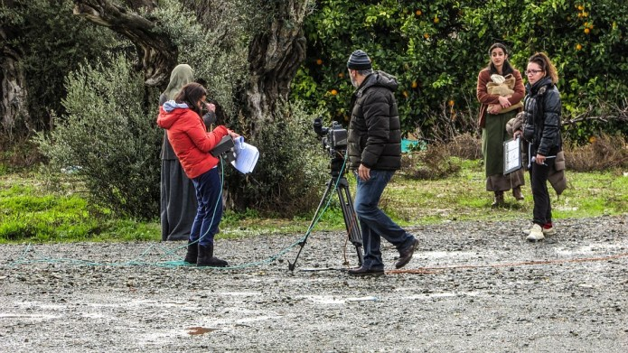 camera man on set