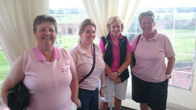 Ladies of Lilleshall - In the pink!