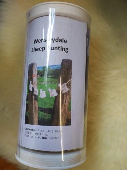Wensleydale Sheep Bunting Kit