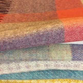 Pure Wool Throws varied 2