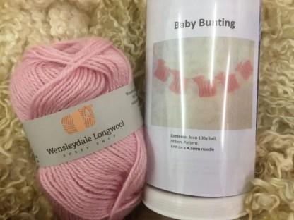 Pink Baby Bunting Kit