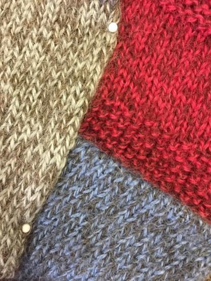 Knitted Aran Marl