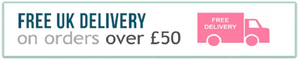 Free UK Delivery on orders over £50