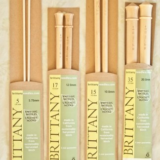 Brittany Knitting Needles in packaging