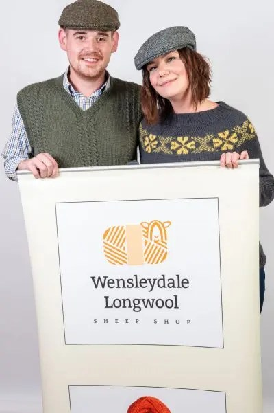 Wensleydale Longwool Banner for Wool Shows