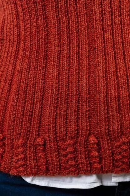 Wensleydale Longwool Judy Vest detail