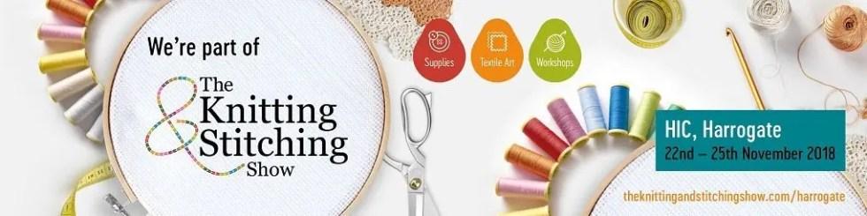Knitting & Stitching Show Harrogate 2018 web banner