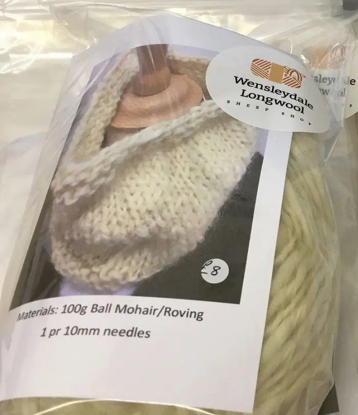 Sheep Shop Ossett Cowl knitting kit