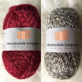 Wensleydale 4 Ply Marl wool